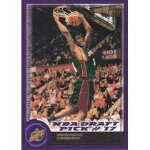2000-01 Topps Rookie Draft Pick Desmond Mason Sonics