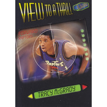 1997-98 Ultra View To A Thrill Rookie Tracy Mcgrady Raptors