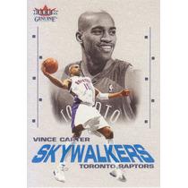 2001-02 Fleer Genuine Skywalkers Vince Carter Raptors