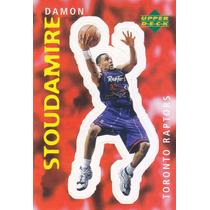 1997 Ud Choice Italian Sticker Damon Stoudamire Raptors #314