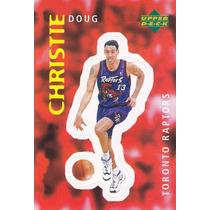 1997 Ud Choice Italian Sticker Doug Christie Raptors #312