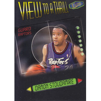 1997-98 Fleer Ultra View To A Thrill Damon Stoudamire Tor