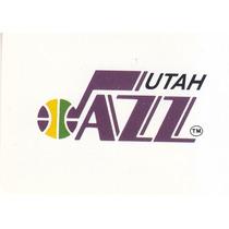 1995-96 Ud Choice Italian Sticker Logo Team Utah Jazz