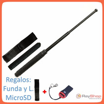 Baston Palo Tactico Retractil 21 Pg, Seguridad. Regalos!!