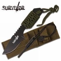 Cuchillo De Supervivencia Con Pedernal M 4141
