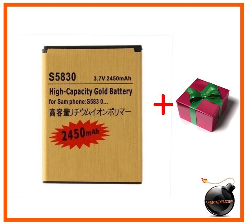 Bateria Dorada Samsung Galaxy Fit Gt S5670 Gio S5660 title=
