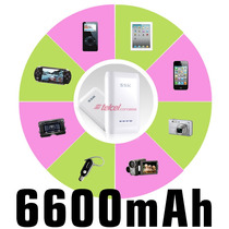 Power Bank De 6600mah Bateria Externa Ssk 100% Originales