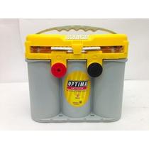 Batería De Gel Optima Tipo 34/78 Amarilla. Envío Gratis D.f