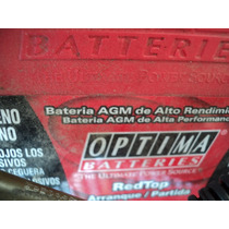 Bateria D Gel Optima Roja 6v 1000 Amp 24 Meses Garantia