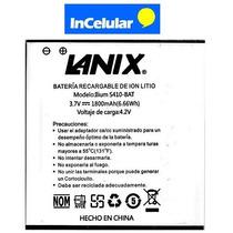 Pila Bateria Lanix S410 S410-bat 3.7v 1800mah Nueva Original