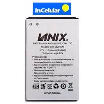 Pila Bateria Lanix S520 S520-bat 3.7v 1800mah Nueva Original