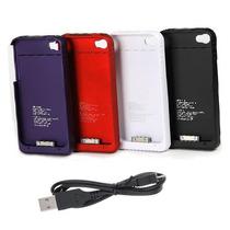 Funda Con Bateria Apple Iphone 4 Y 4s + Cable Usb Regalo
