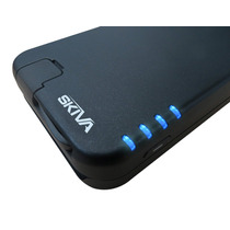 Skiva Funda Protectora Y Batería Externa Iphone 5 Y 5s Nuevo