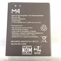 Pila Bateria Matel M4 2000mah Gde 7.4wh 3.7v Ss4040 Original