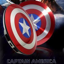 Capitan America Bateria Externa 6800 Mah