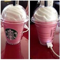 Power Bank Starbucks Pink 5600 Mha