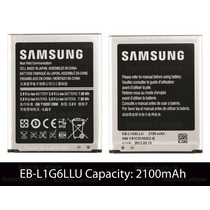 Bateria Galaxy S3 2100mah Pila Samsung I9300 I747 L1g6llu