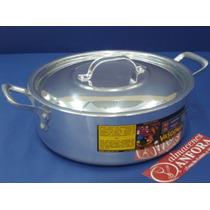 Aluminio Budinera 28 Cms Mod.: 30044 Mrc.: Vasconia