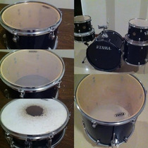 Tama Imperial Rhythm Negra C/ Platillo Crash-ride Sabiansbr