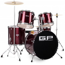 Bateria Musical Profesional Greggs Percussion Meses Sin Int