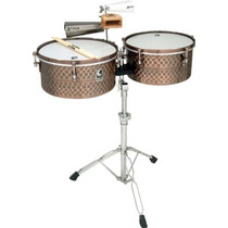 Timbales Toca Pro Lines + Base Cencerros Musical Mn4