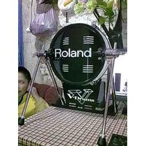 Bass Drum Roland V- Kick Kd-120 Wt De V° Drums.