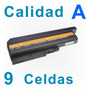 B88a Bateria Para Lenovo Thinkpad R60 Alta Duracion Facturad