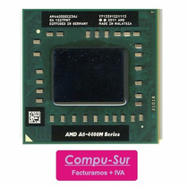 Procesador Amd A6 A6-4400m Socket Sf1 3.2 Ghz Turbo Laptop