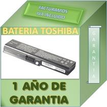 Bateria Compatible Laptop Toshiba L635 Garantia 1 Año