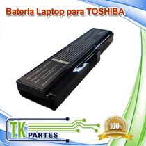Batería De Laptop Para Toshiba Pa3817u T10