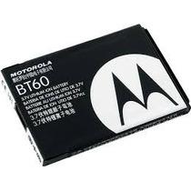 Bateria Celular Motorola Bt60 Original Envio Gratis