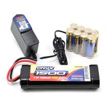 Duratrax Dtxp4615 Power Kit Bateria 7.2v 1500mah Y Cargador