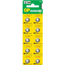 Baterias Gp Lr44 Alkaline Cell Blister De 10 Pilas