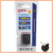 Bateria Sony Original Genuina Np-fv100 Larga Duracion 14 Hrs
