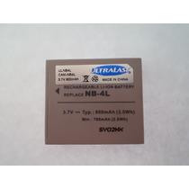 Bateria Pila Nb-4l Para Cámara Canon Powershot Sd1000, Sd400