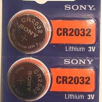 Paquete De 10 Pilas De Litio, Marca Sony Modelo Cr2032