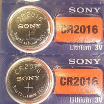 Paquete De 10 Pilas De Litio, Marca Sony Modelo Cr2016