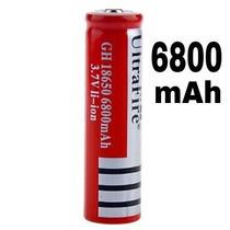 Bateria 18650 Pila 6800 Mah Litio-ion Mah 3.7v Recargable