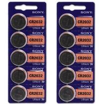 Baterías Sony Cr2032 De Litio De 3v (2 X Pack De 5)