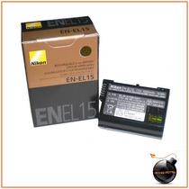 Nueva Bateria Original En-el15 Para Nikon D7000 800 800e 1v1