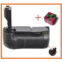 Empunadura Grip Bg-e7 Bateria Lp-e6 P/camara Canon Eos 7d