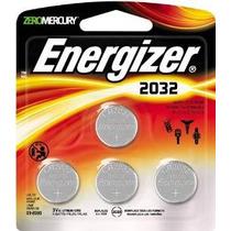 Energizer Cr2032 3 Voltios De Litio Batería De La Moneda 4 C
