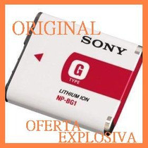 Bateria Recargable Np-bg1 Original P/camara Digital Sony