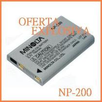 Bateria Recargable Np-200 P/camara Konica Minolta Dimage X