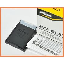 Bateria Recargable Original En-el2 Camara Nikon Coolpix Sq