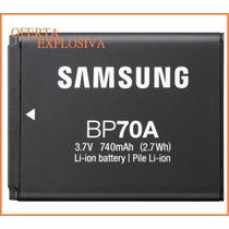 Bateria Recargable Bp-70a P/camara Samsung Pl80 Pl90 Pl100