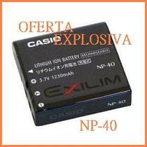 Bateria Recargable Np-40 P/camara Casio Pro Ex-z1000 P700