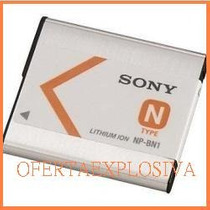 Bateria Original Recargable Sony Np-bn1 Camara Dsc-tx7 Tx9