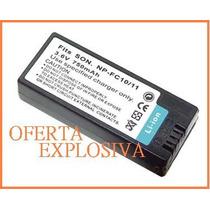 Bateria Li-ion Recargable Np-fc10/fc11 Camara Sony Dsc-p10