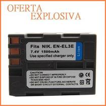 Bateria Li-ion Recargable En-el3e P/camara Digital Nikon D50